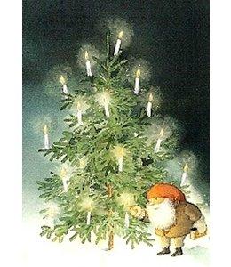 Catarina Kruusval Tomte und Weihnachtsbaum