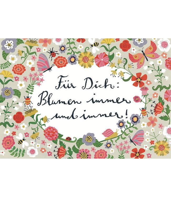 Inkognito Für Dich: Blumen immer und immer!