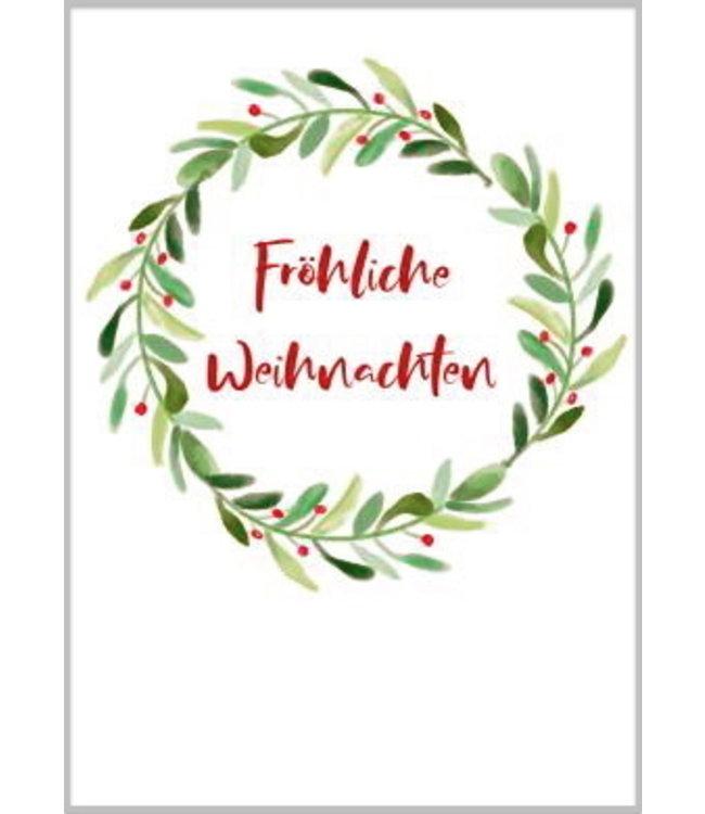 Taurus Cards Weihnachtskranz