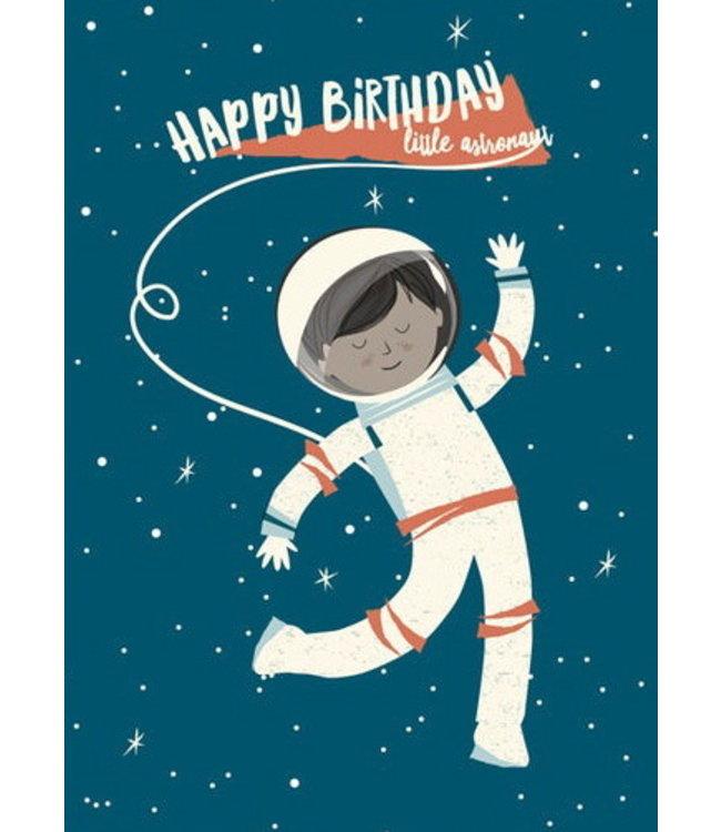 Vierundfünfzig Illustration Astronautengeburtstag