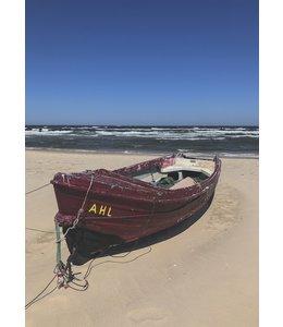 schnurkarten Fischerboot