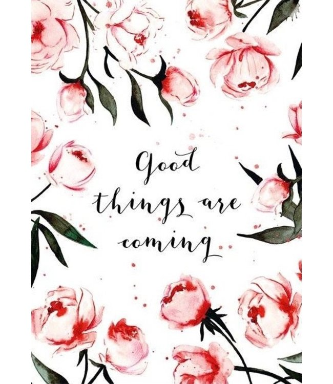 LEO LA DOUCE good things are coming