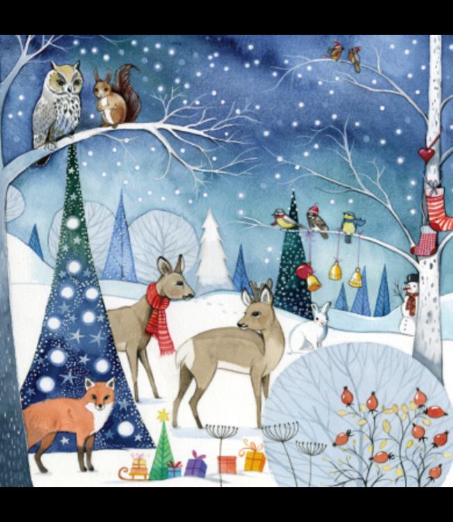 Kristiana Heinemann Weihnachtsabend im Wald