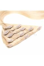 Cheveuxx Clip-in haar extensions blond  - 40 cm