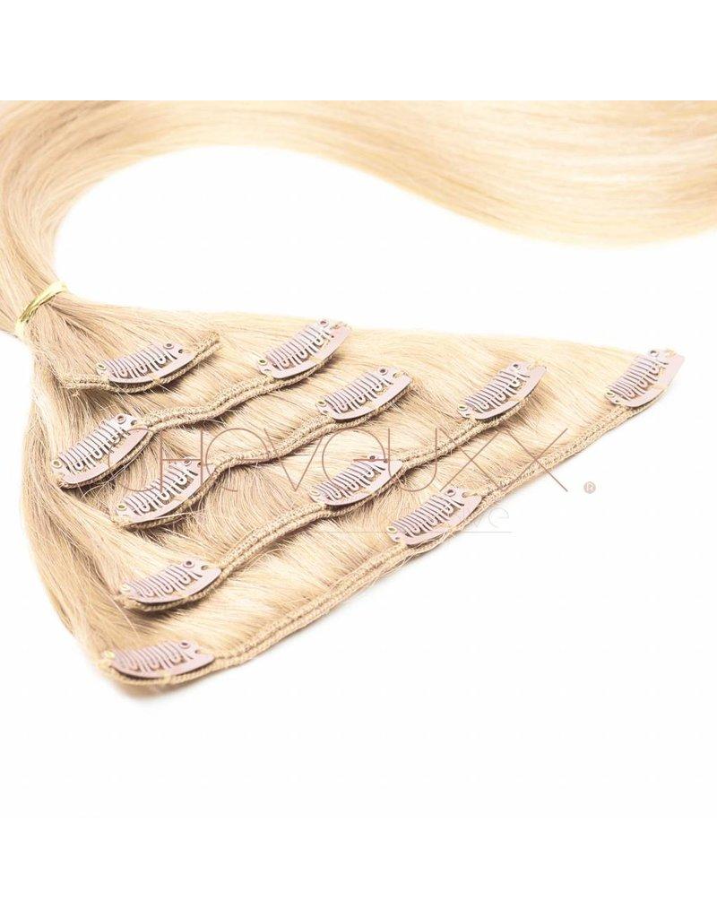 Cheveuxx Clip-in  haar extension blond  - 50 cm