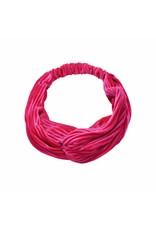 Cheveuxx Velvet haarband - roze