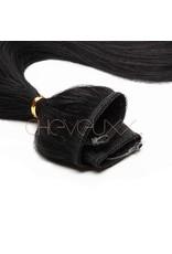 Cheveuxx Flip-in haar extension zwart - 50 cm