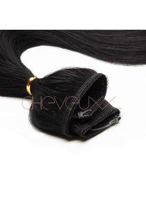 Cheveuxx Flip-in haar extension zwart- 50 cm