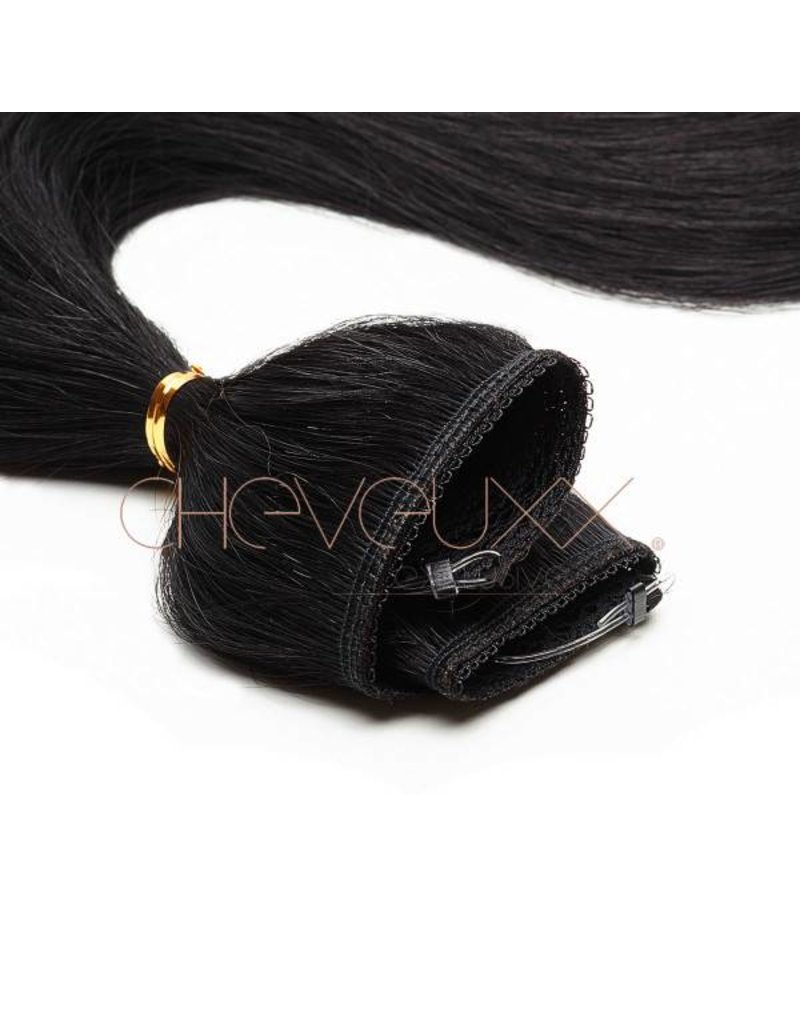 Flip-in zwart - 50 cm