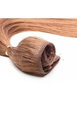 Cheveuxx Flip-in haar extensions licht bruin - 50 cm