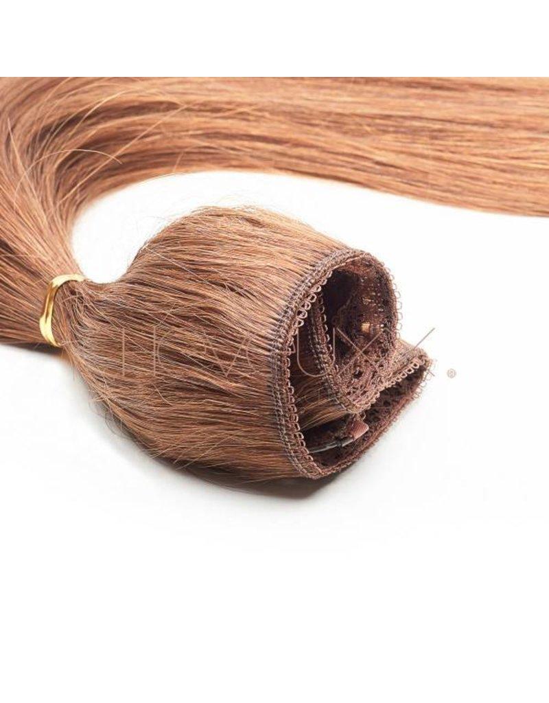 Cheveuxx Flip-in haar extension licht bruin - 40 cm