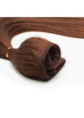 Cheveuxx Flip-in haar extensions donker bruin -  40 cm
