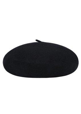 Baret zwart
