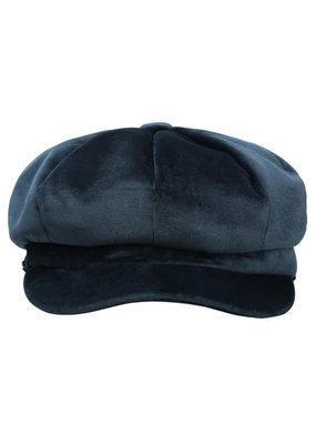 Cap blauw | Velvet