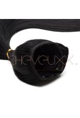 Clip-in zwart 55 cm