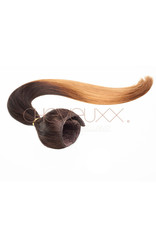 Clip-in ombre bruin donkerblond 55 cm