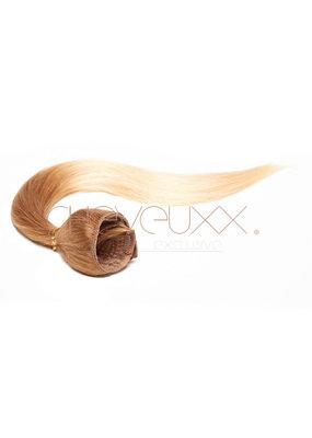 Clip-in ombre blond bruin  55 cm