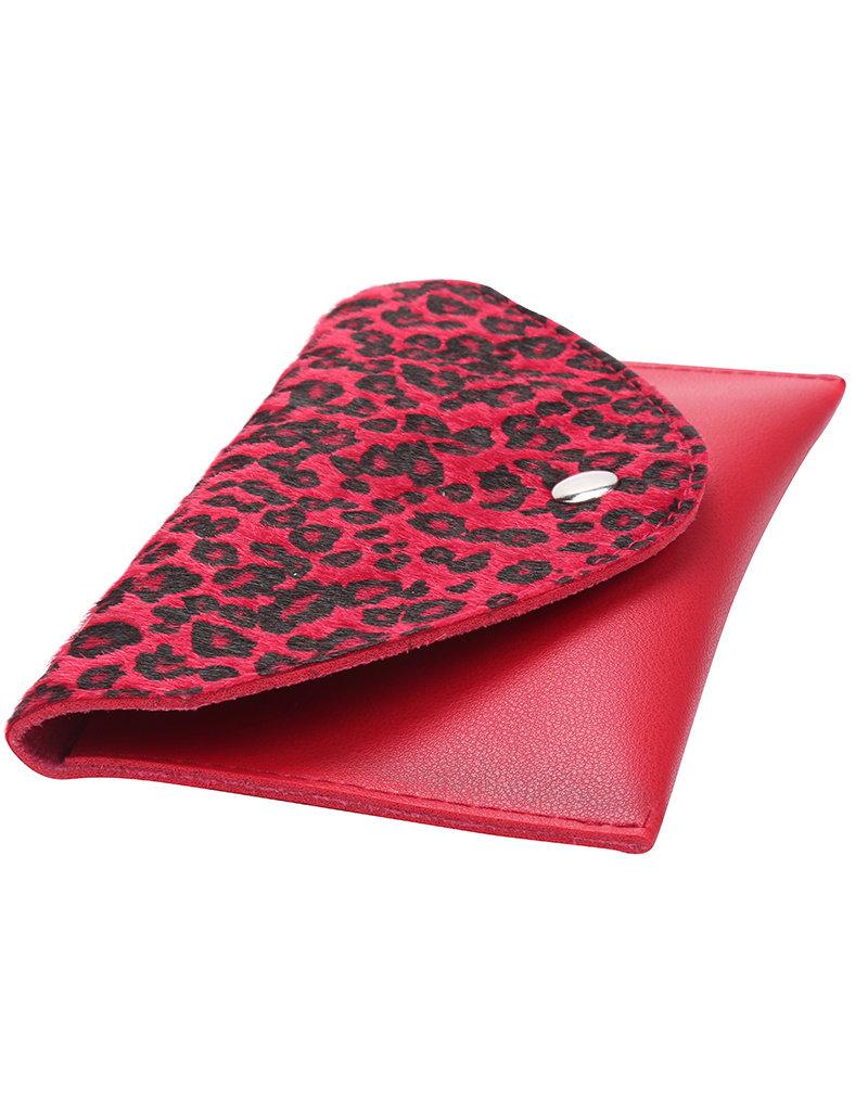 Heuptas leopard rood
