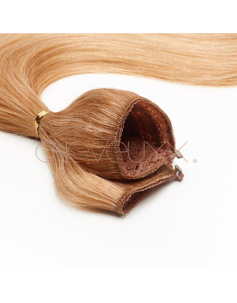 Cheveuxx Flip-in haar extension blond - 40 cm
