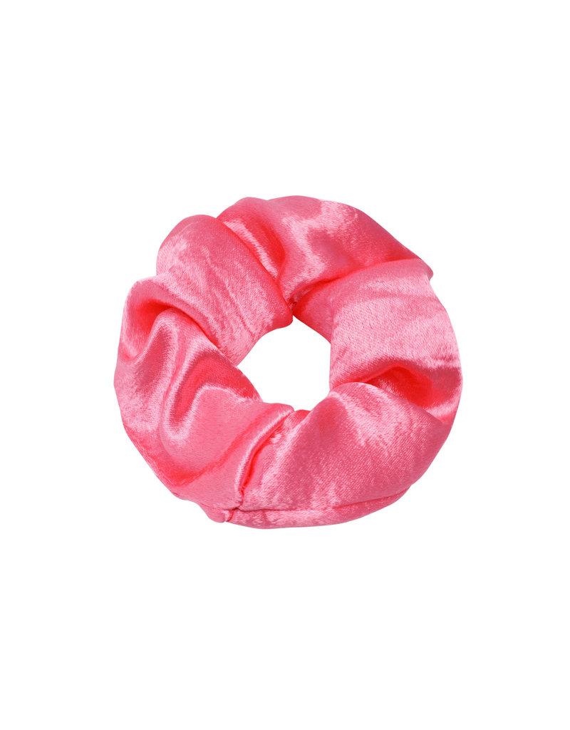 Scrunchie satin - roze
