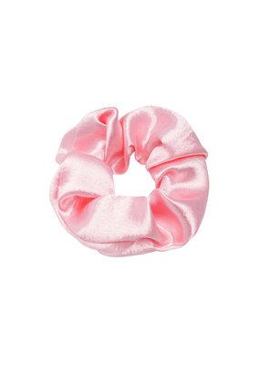 Scrunchie satin - licht roze