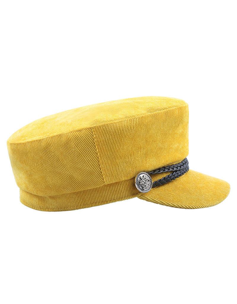 Cap rib - geel