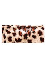 Haarband velvet leopard