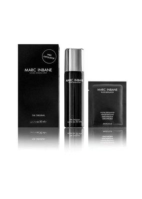 Marc inbane - Spray tanning + gezichtscrub