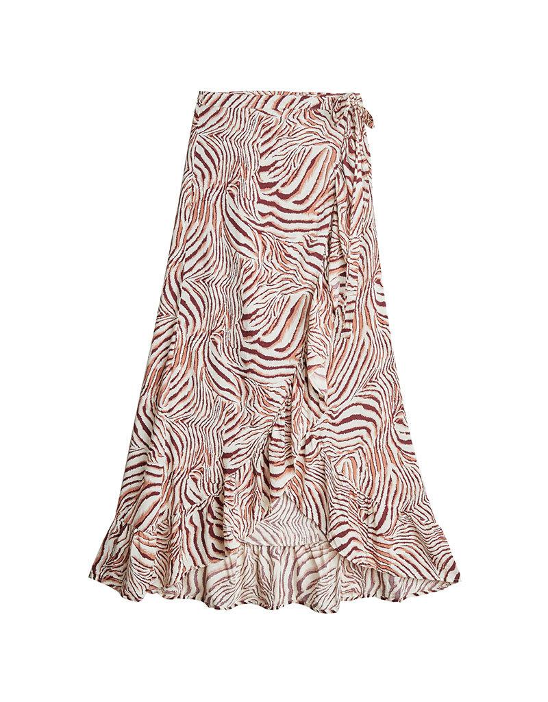 Overslagrok zebra bruin