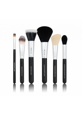 Boozyshop Make up kwasten set van 6 zwart