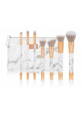Boozyshop Make up kwasten set van 7 - Marble