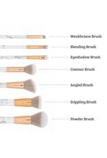 Boozyshop Make up kwasten set van 7 - Marble