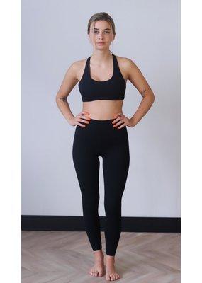 Cheveuxx Yoga top zwart