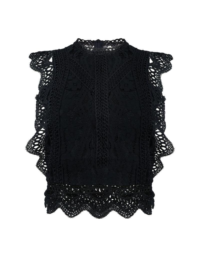 Cheveuxx Lace top zwart