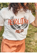 Cheveuxx Revolution white t-shirt