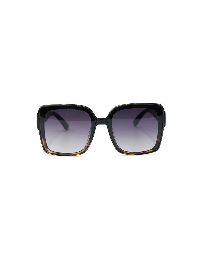 Zonnebril Kourtney zwart bruin