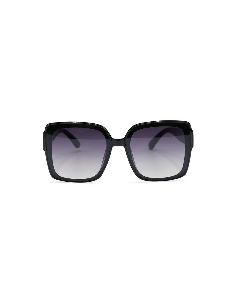 Zonnebril Kourtney zwart