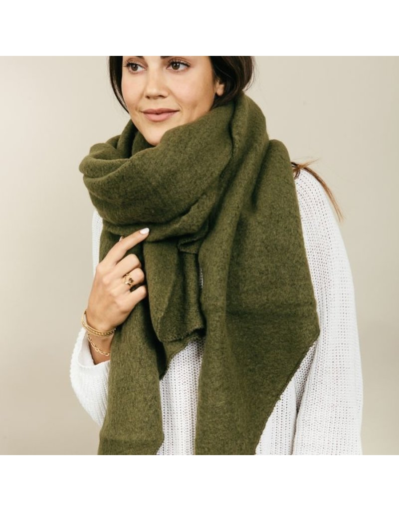 Sjaal groen