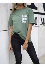 Dor T-shirt groen