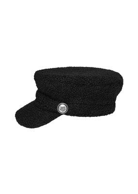 Teddy cap zwart
