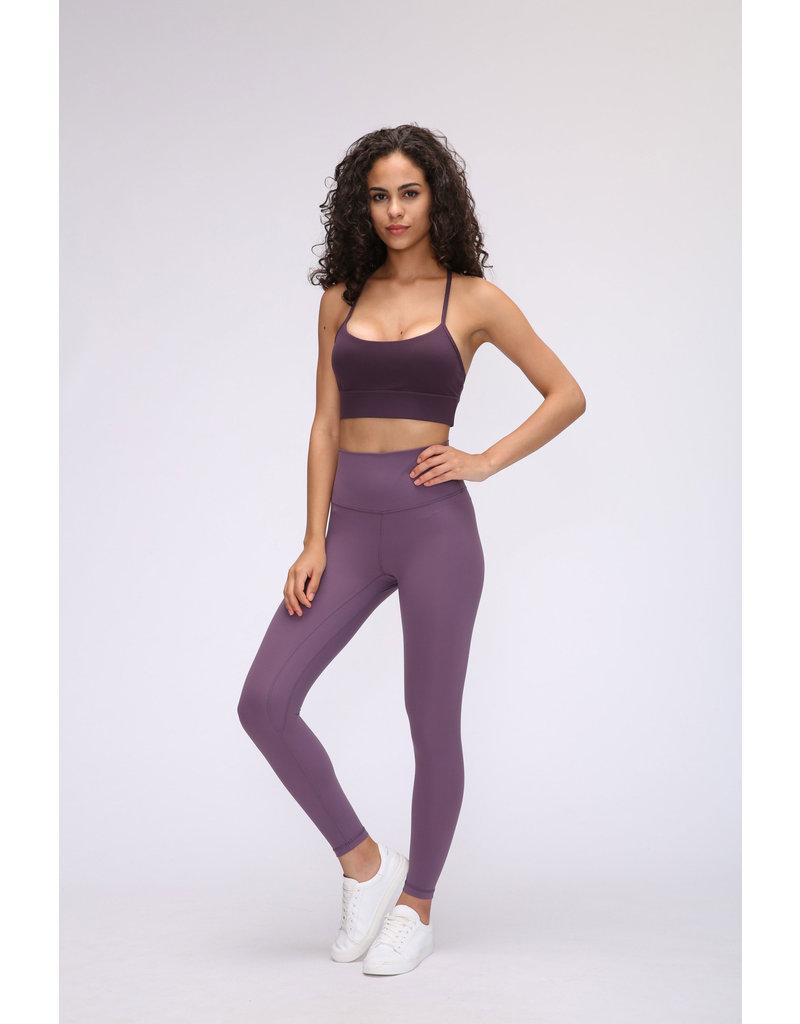 Cheveuxx Yoga broek paars