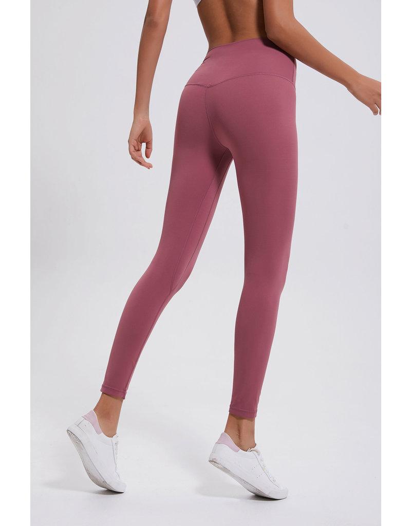 Cheveuxx Yoga broek oud roze