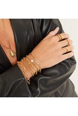 Cheveuxx Armband goud diamant