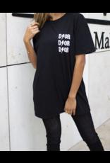 Dor T-shirt zwart