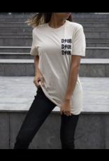 Dor T-shirt beige