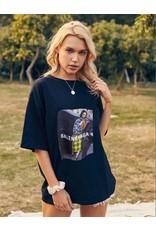 Cheveuxx T shirt zwart - B