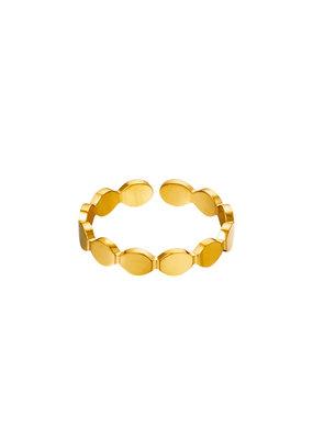 Ring goud ovalen
