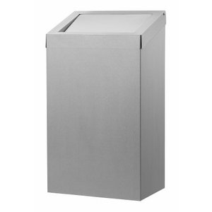Dutch Bins bin Affald 50 liter rustfrit stål