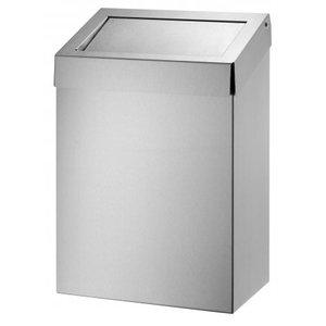 Dutch Bins Avfallsbehållare 20 liter av rostfritt stål