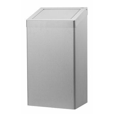 Dutch Bins Avfallsbehållare 50 liter av rostfritt stål